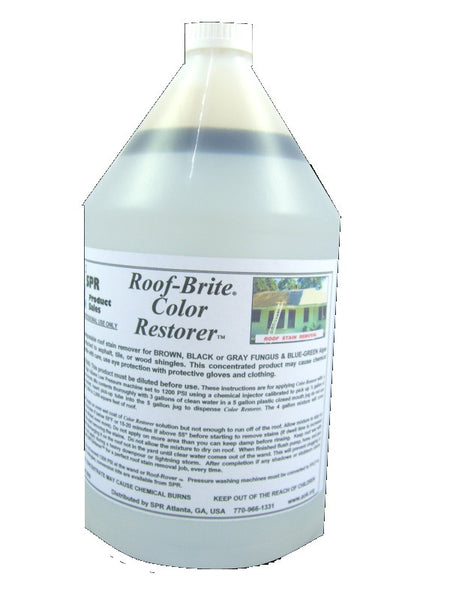Amazing Roof Cleaner Removes Roof Stains Fast Spr