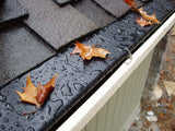 Gutter Shield - Rain Gutter Leaf Protection