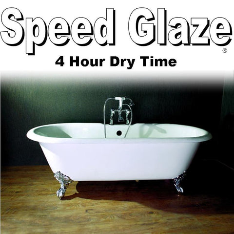Speed Glaze Tub & Tile Roll or Spray Refinishing