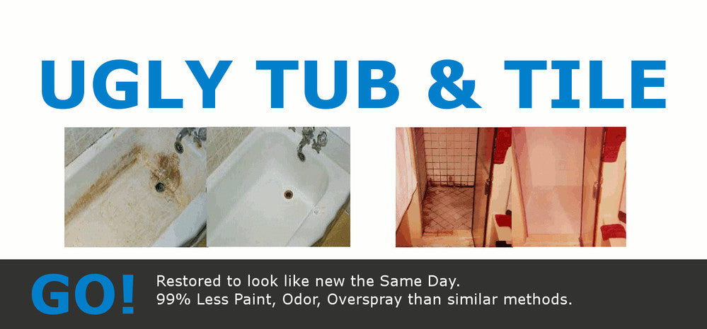 No Spray Tub and Tile Refinishing Products and Kits