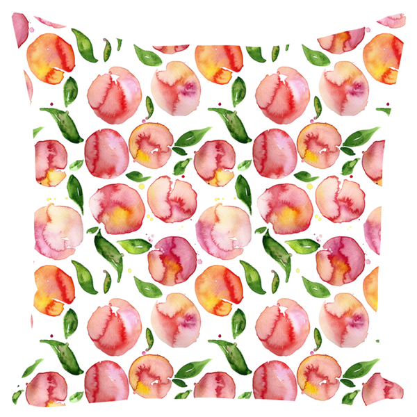 "Throw Pillows- ""Peachy"""