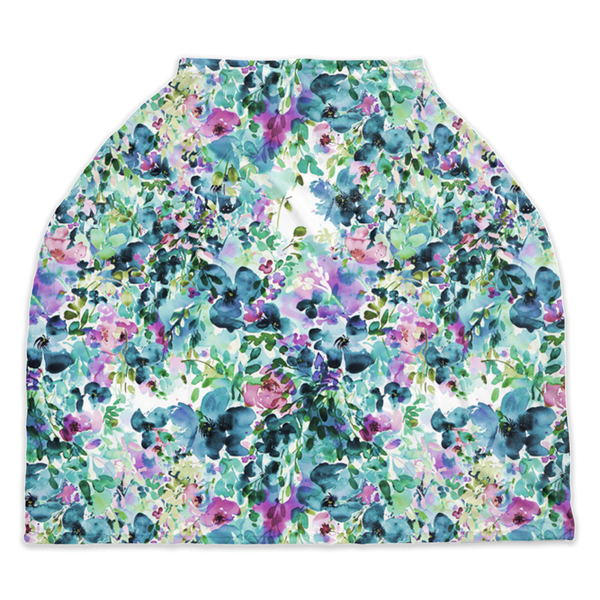"Nursing Cover | Car Seat Cover - ""Anemone"""