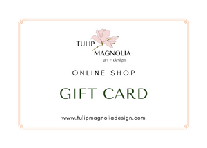 Online Shop Gift Cards