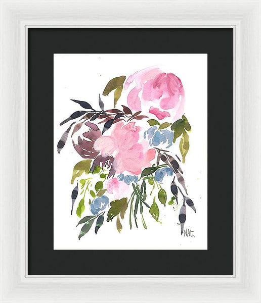 Cooler Mornings - Framed Print