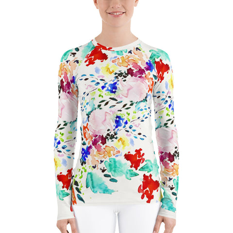Women's Adventure Shirt- Vibrant Melody