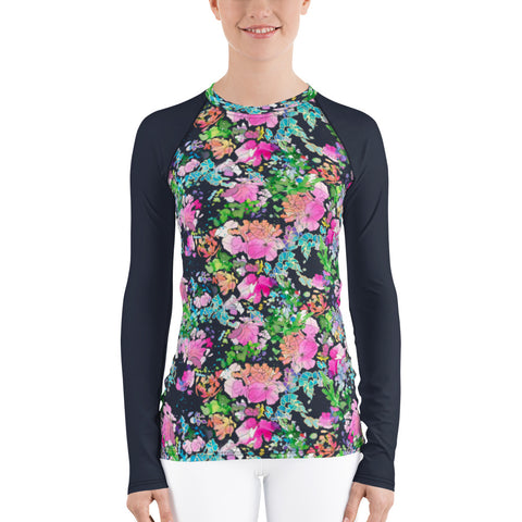 Women's Adventure Shirt- Isla with Midnight Sleeves