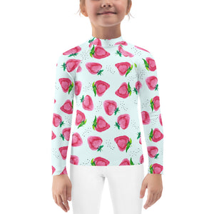 Kids Adventure Shirt- Strawberries