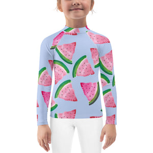 Kids Adventure Shirt- Watermelons on Lilac