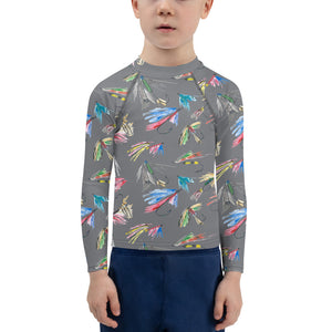 Kids Adventure Shirt- Fishing Flies