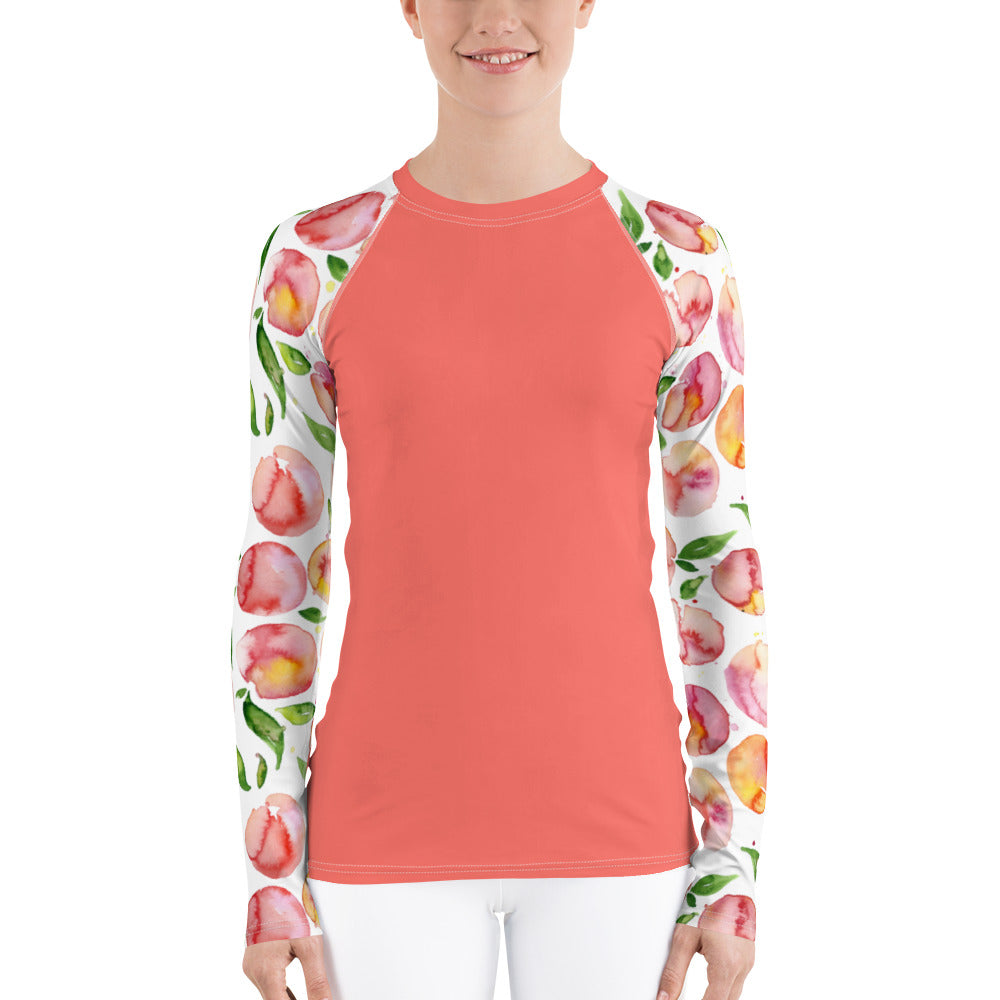 Women's Adventure Shirt- Coral Peachy