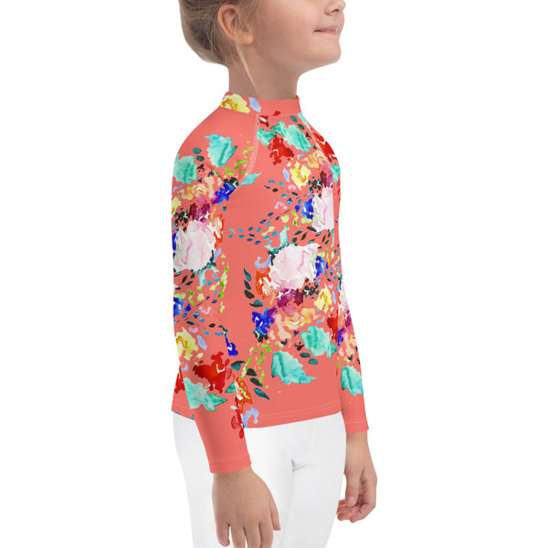 Kids Adventure Shirt- Coral Vibrant Melody