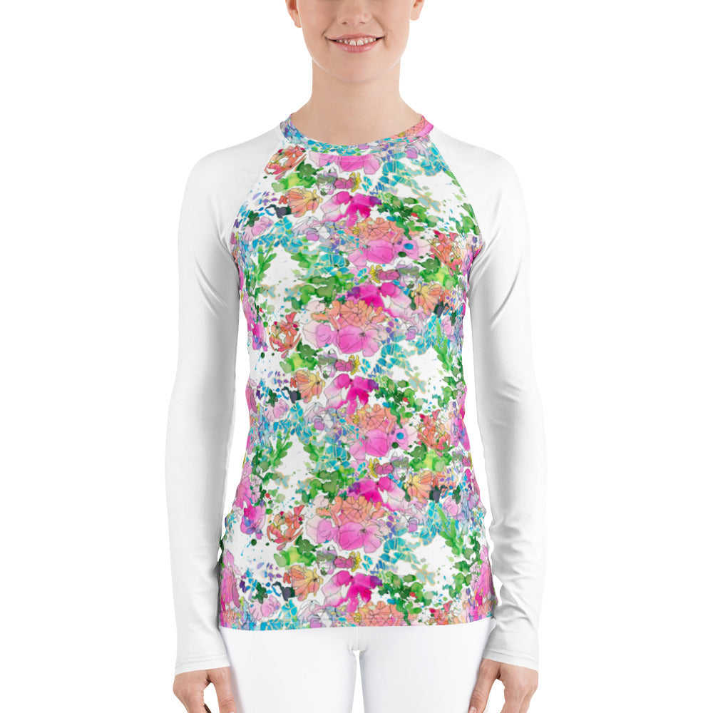 Women's Adventure Shirt- Isla with White Sleeves