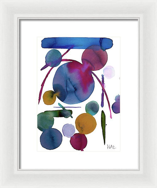 Waning Shadows 1 - Framed Print