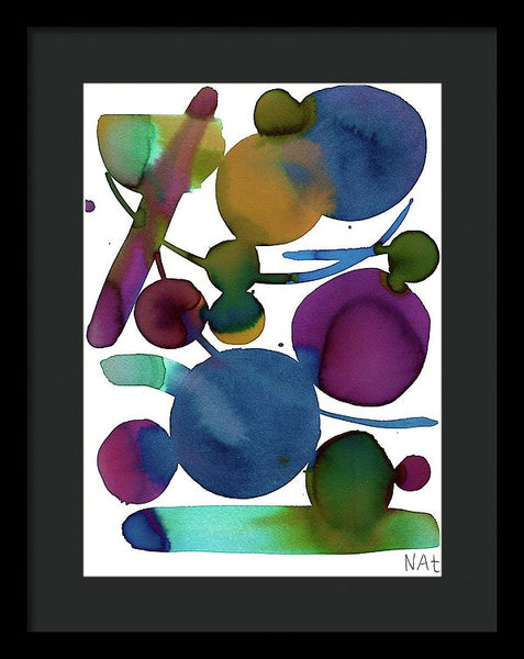 Waning Shadows 2 - Framed Print