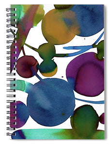 Waning Shadows 2 - Spiral Notebook