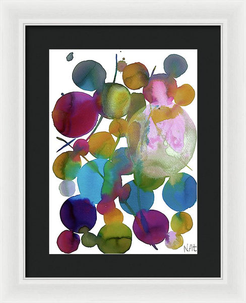Waning Shadows 3 - Framed Print