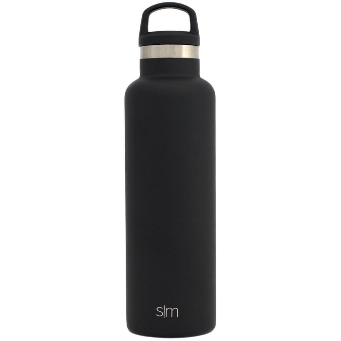 Simple Modern 20oz Ascent Water Bottle Midnight Black