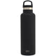 Midnight Black Ascent Water Bottle Custom Ascent Water Bottle - 20oz