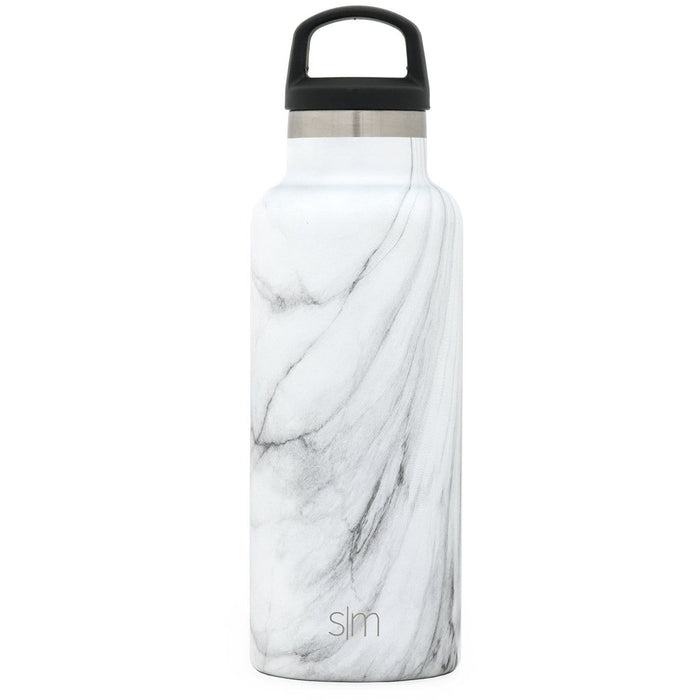 Carrara Marble Ascent Water Bottle Ascent Water Bottle - 17oz