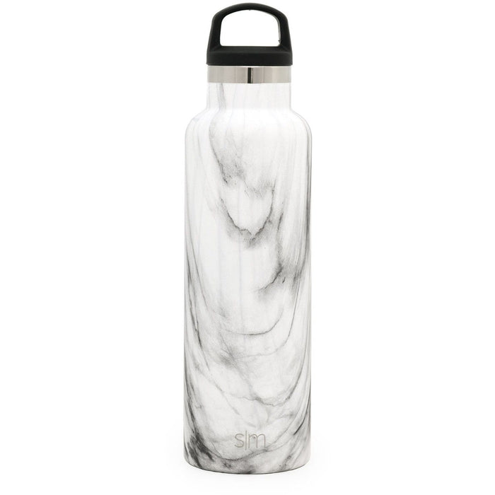 Carrara Marble Ascent Water Bottle Ascent Water Bottle - 20oz