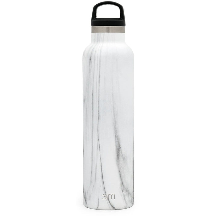 Carrara Marble Ascent Water Bottle Ascent Water Bottle - 24oz
