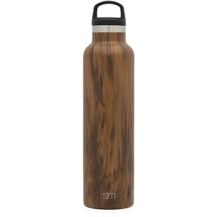 Simple Modern 24oz Ascent Water Bottle Midnight Black