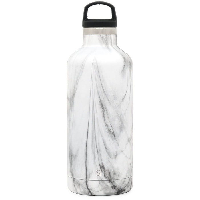 Carrara Marble Ascent Water Bottle Ascent Water Bottle - 32oz