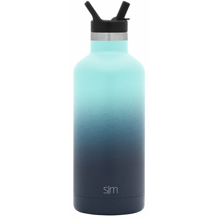 Bermuda Deep Ascent Water Bottle Ascent Water Bottle with Straw Lid - 32oz