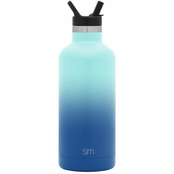 Pacific Dream Ascent Water Bottle Ascent Water Bottle with Straw Lid - 32oz