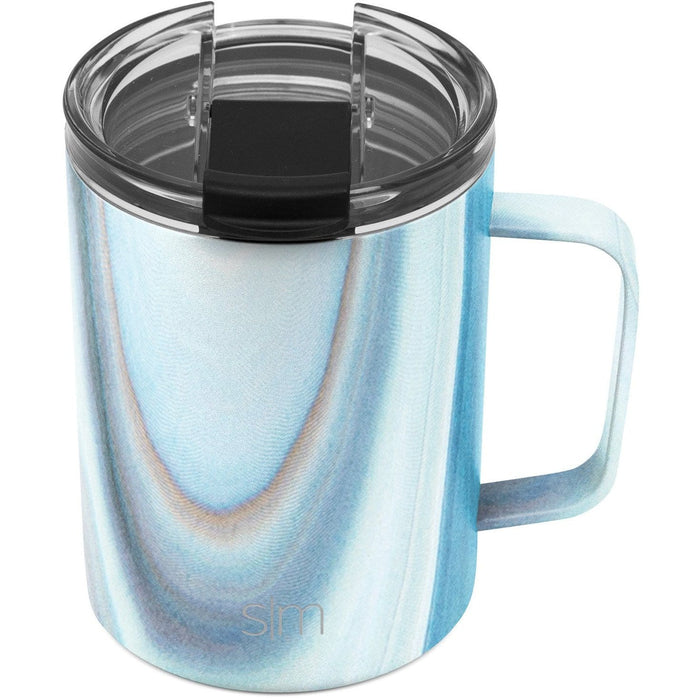 Ocean Quartz Scout Coffee Mug Scout Coffee Mug with Clear Flip Lid - 12oz