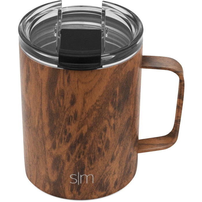 Wood Grain Scout Coffee Mug Scout Coffee Mug with Clear Flip Lid - 12oz
