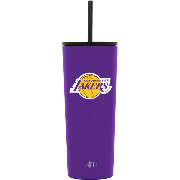 24oz Classic Tumbler Los Angeles Lakers 24oz Classic Tumbler with Flip Lid & Straw Lid