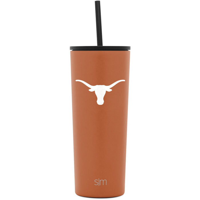 Collegiate Classic Tumbler with Flip Lid and Straw - 24oz
