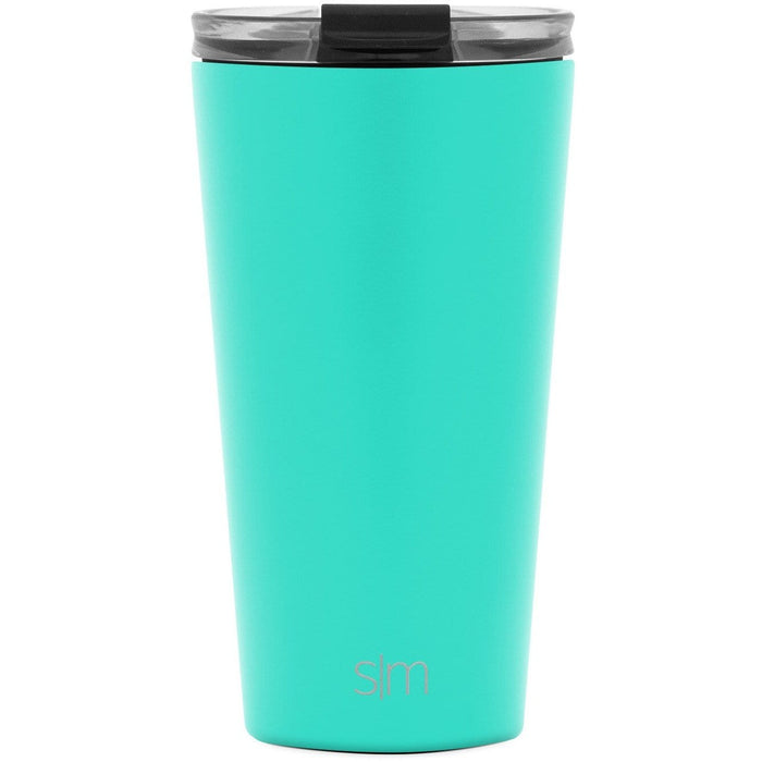 Oasis Classic Tumbler with Clear Flip Lid Classic Tumbler with Clear Flip Lid & Straw - 16oz