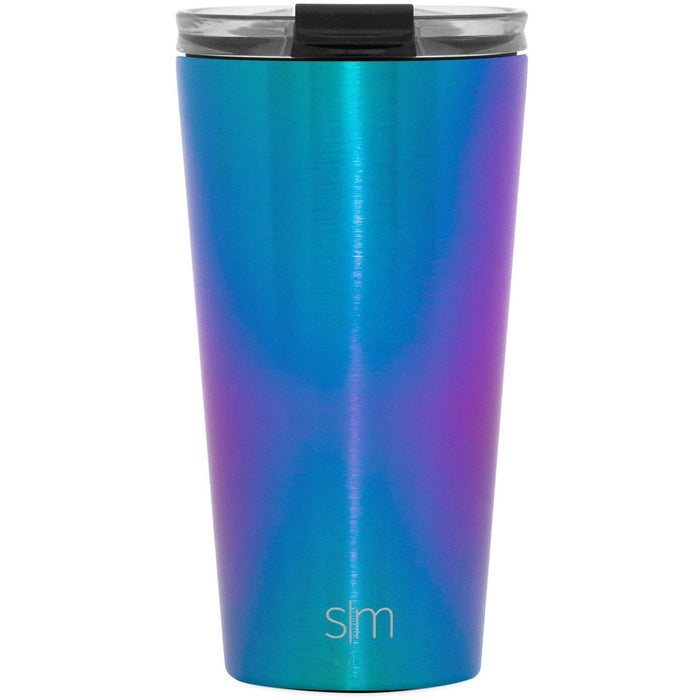 Prism Classic Tumbler with Clear Flip Lid Classic Tumbler with Clear Flip Lid & Straw - 16oz