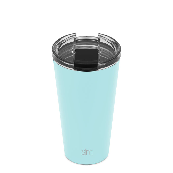 Seaside Classic Tumbler with Clear Flip Lid Classic Tumbler with Clear Flip Lid & Straw - 16oz