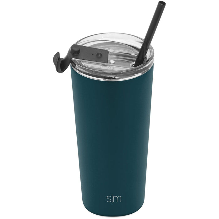 Riptide Classic Tumbler with Clear Flip Lid Classic Tumbler with Clear Flip Lid & Straw - 20oz