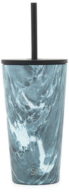 Classic Tumbler with Straw and Flip Lid - 16oz, 24oz