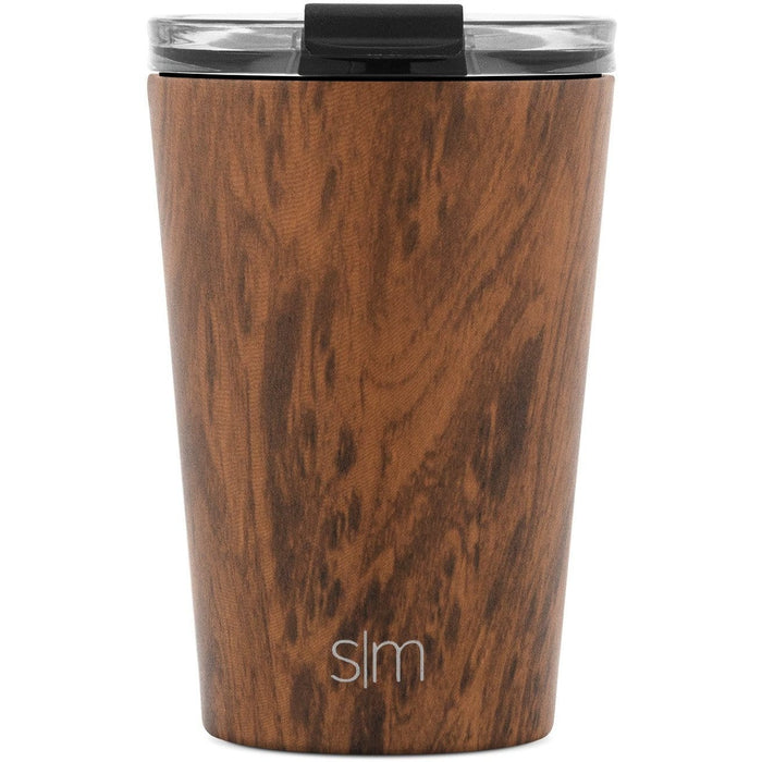 Wood Grain Classic Tumbler with Clear Flip Lid Classic Tumbler with Clear Flip Lid & Straw - 12oz