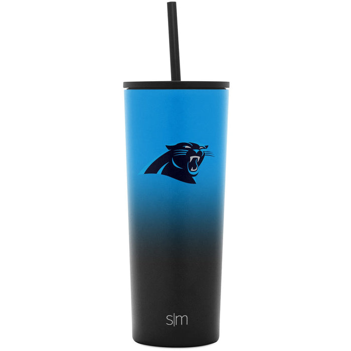 NFL Two-Tone Classic Tumbler with Flip Lid and Straw Lid - 24oz