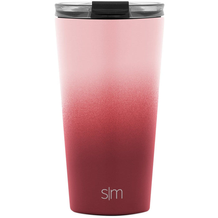 Wildberry Classic Tumbler with Clear Flip Lid Classic Tumbler with Clear Flip Lid & Straw - 16oz