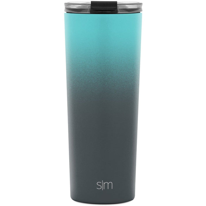 Bermuda Deep Classic Tumbler with Clear Flip Lid Classic Tumbler with Clear Flip Lid & Straw - 24oz