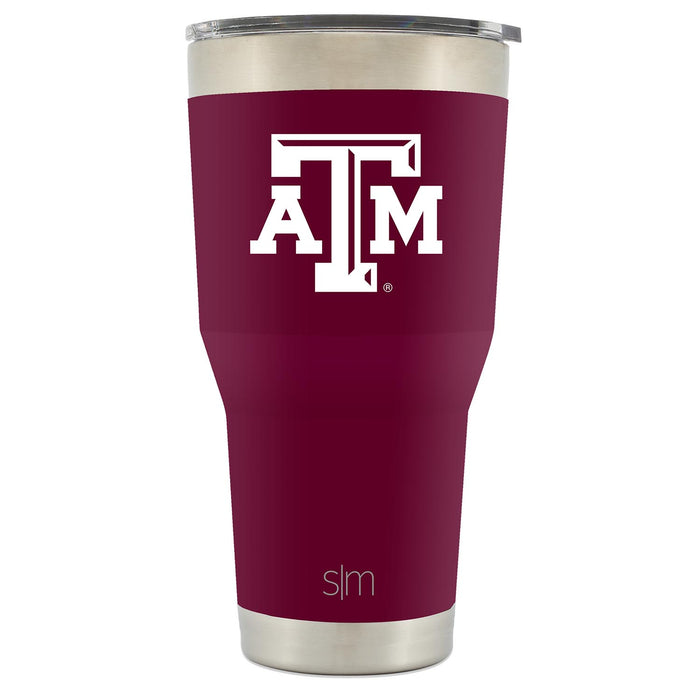 Texas A & M University-College Station School Colors 30oz Tumbler