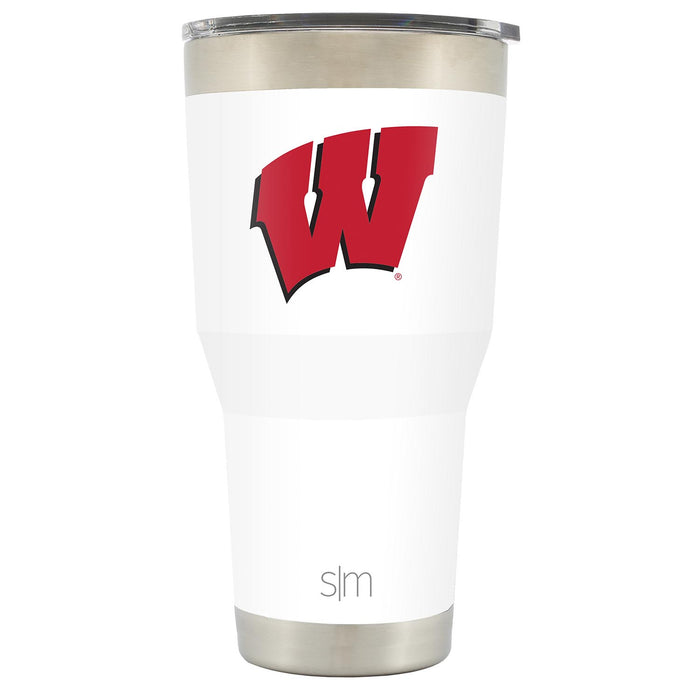 University of Wisconsin-Madison School Colors 30oz Tumbler