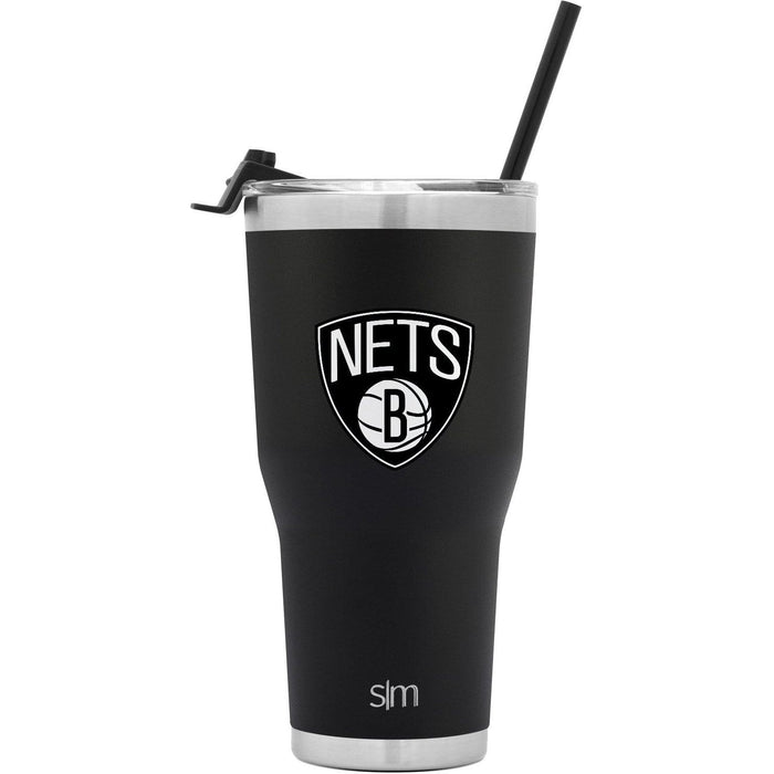 Cruiser Tumbler Brooklyn Nets 30oz Cruiser Tumbler with Flip Lid and Straw