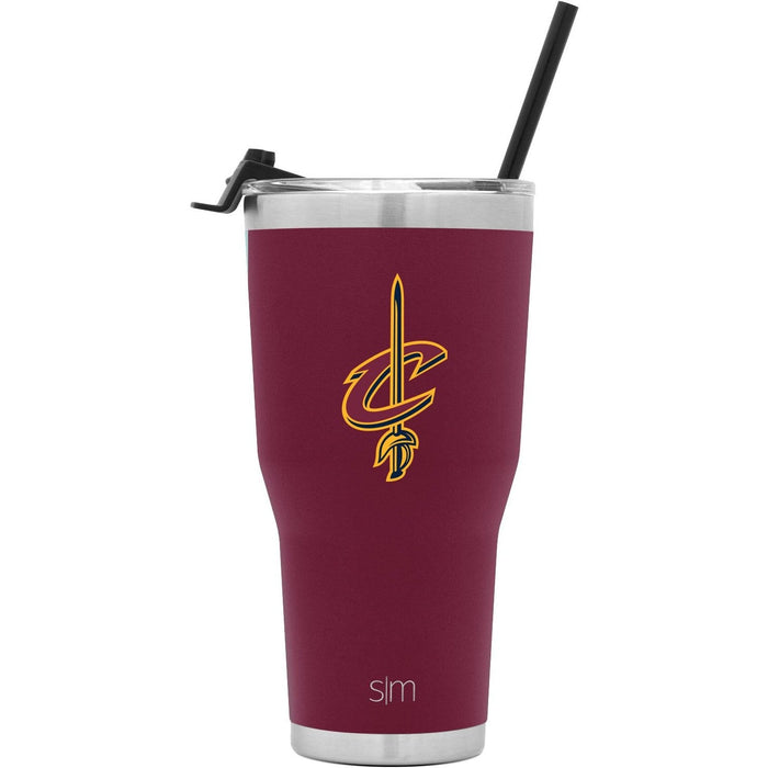 Cruiser Tumbler Cleveland Cavaliers 30oz Cruiser Tumbler with Flip Lid and Straw