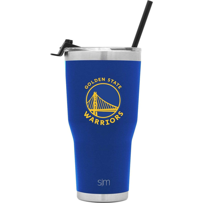 Cruiser Tumbler Golden State Warriors 30oz Cruiser Tumbler with Flip Lid and Straw
