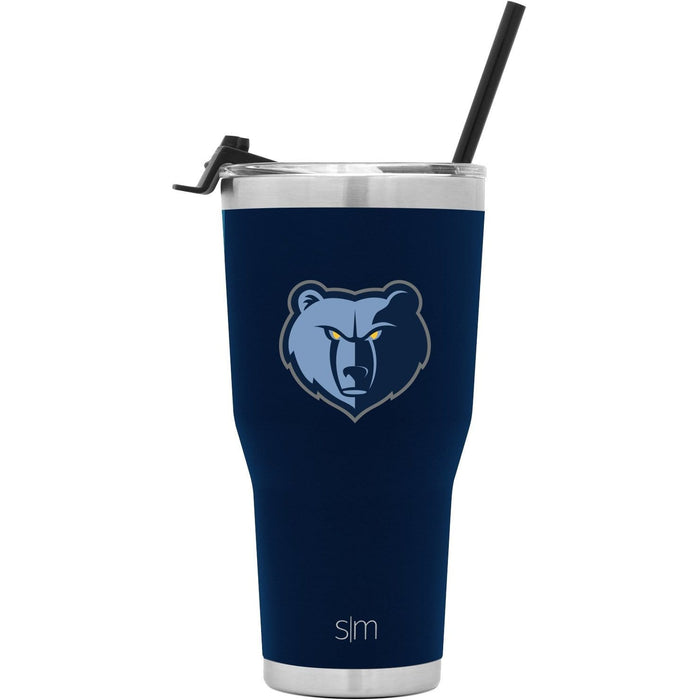 Cruiser Tumbler Memphis Grizzlies 30oz Cruiser Tumbler with Flip Lid and Straw