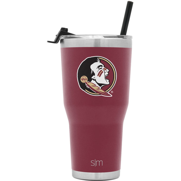 Collegiate Cruiser Tumbler with Flip Lid and Straw - 30oz