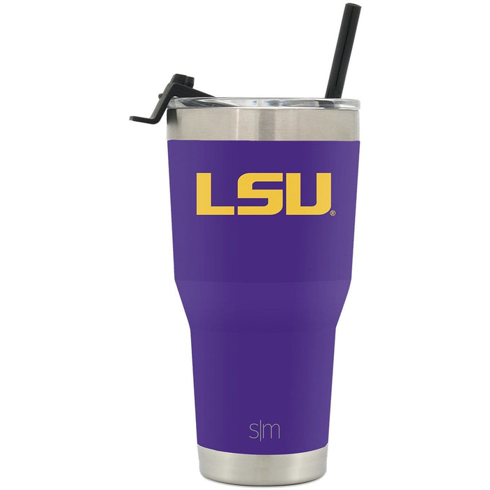 Cruiser Tumbler LSU 3oz Tumbler with Flip Lid & Straw
